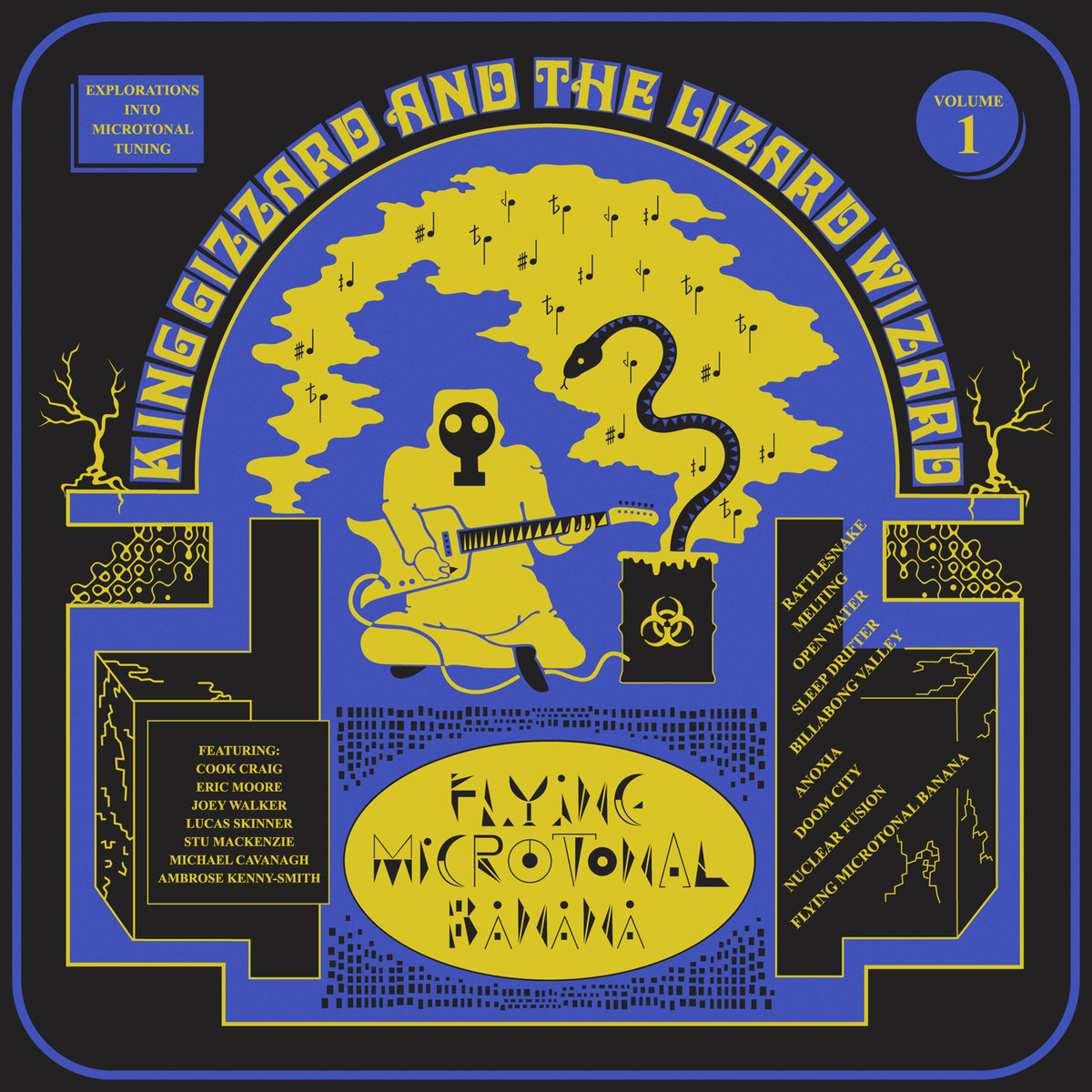 King Gizzard & The Lizard Wizard: Flying Microtonal Banana